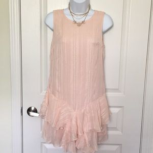 Forever 21 dress Pink crepe  Size Small